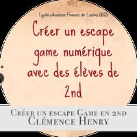 Créer un escape game numérique avec les élèves