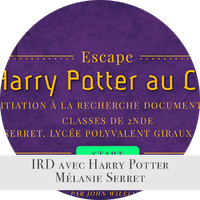 L'IRD avec Harry Potter
